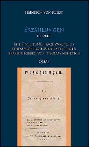 Erzählungen: Heinrich von Kleist