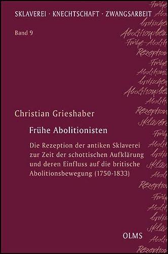 Frühe Abolitionisten: Christian Grieshaber