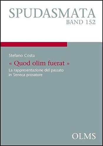 Quod olim fuerat.: Stefano Costa