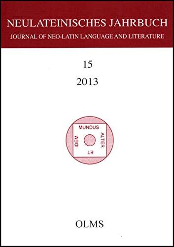 9783487150857: Journal of Neo-Latin Language and Literature