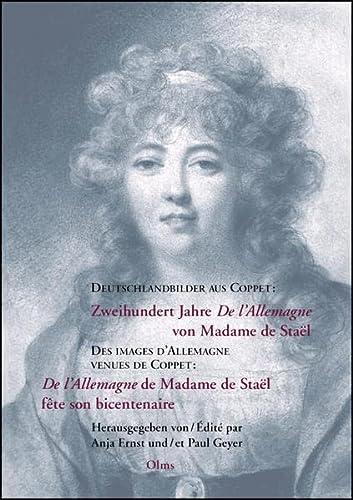 """De d'Allemagne venues de Coppet : """"De l'Allemagne"""" de Madame de Staël f&..."""