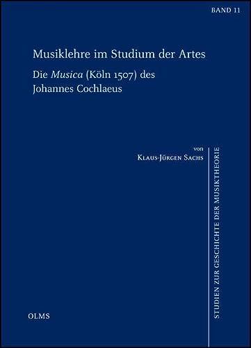 Musiklehre im Studium der Artes: Klaus-Jürgen Sachs