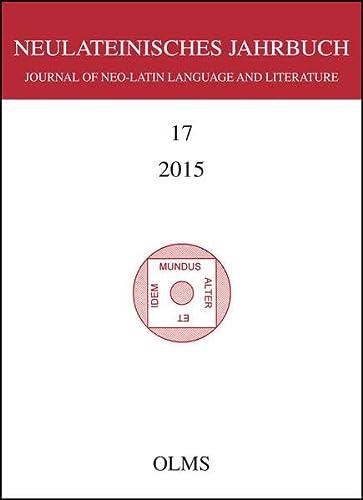 9783487153759: Neulateinisches Jahrbuch 2015. Bd.17
