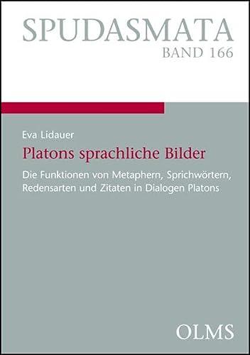 9783487154046: Platons sprachliche Bilder