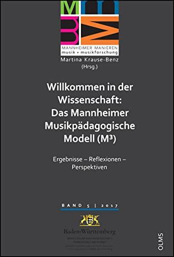 Willkommen in der Wissenschaft: Das Mannheimer Musikpädagogische Modell (M3): Ergebnisse - ...