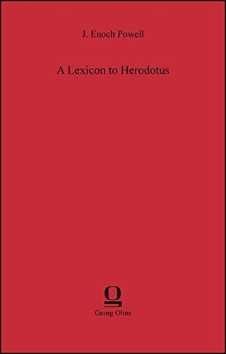 9783487301501: A Lexicon to Herodotus