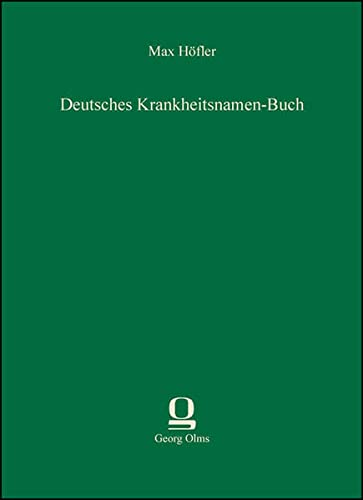 9783487302355: Deutsches Krankheitsnamen-Buch