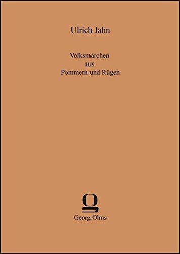 9783487304441: Volksmärchen aus Pommern und Rügen