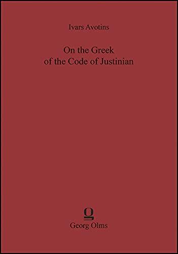 On the Greek of the Code of: Avotins, Ivars
