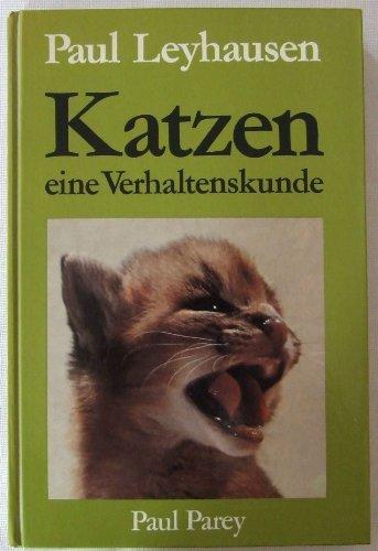 9783489605362: Katzen : Eine Verhaltenskunde.