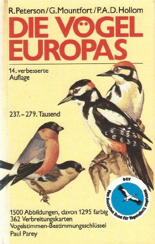 9783490223180: Die Vögel Europas. Ein Taschenbuch für Ornithologen und Naturfreunde über alle in Europa lebenden Vögel