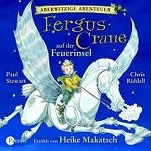 Aberwitzige Abenteuer 01. Fergus Crane auf der Feuerinsel: BD I - Stewart, Paul, Riddell, Chris