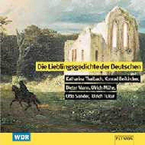 lieblingsgedichte d.deutschen1 cd child. word - Sander, Otto,Mann, Dieter,Tukur, Ulrich