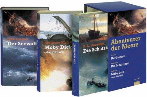 9783491960374: Abenteuer der Meere. Der Seewolf / Moby Dick / Die Schatzinsel.