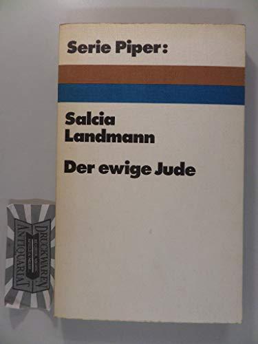 9783492003971: Der ewige Jude.