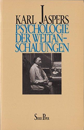 9783492006934: Psychologie der Weltanschauungen
