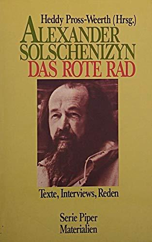 Das rote Rad. Texte, Interviews, Reden (Livre en allemand)