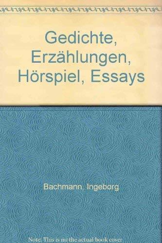 9783492010450: Gedichte - Erzählungen - Hörspiel - Essays