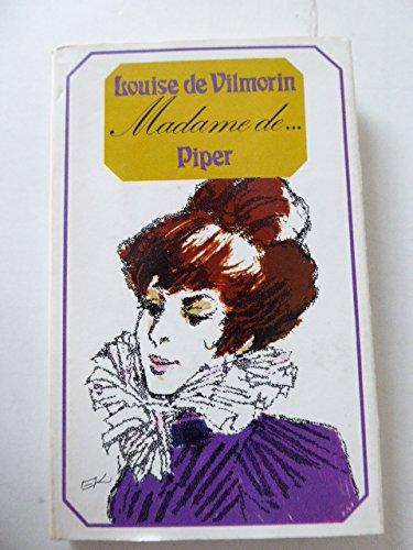 9783492018654: Madame De