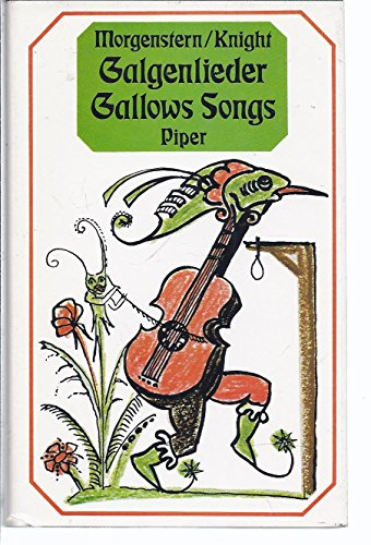 9783492019682: Gallows Songs and Other Poems