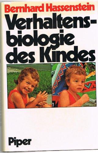 9783492020312: Verhaltensbiologie des Kindes
