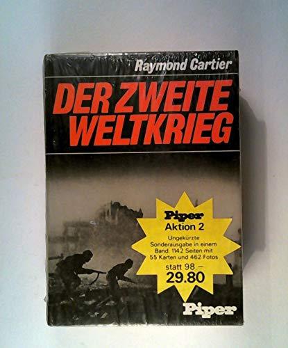 Der Zweite Weltkrieg in 2 Bänden, Band 1 1939 - 1942 und Band 2 1942 - 1945 dokumentiert von ...