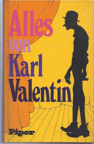 9783492023467: Alles von Karl Valentin