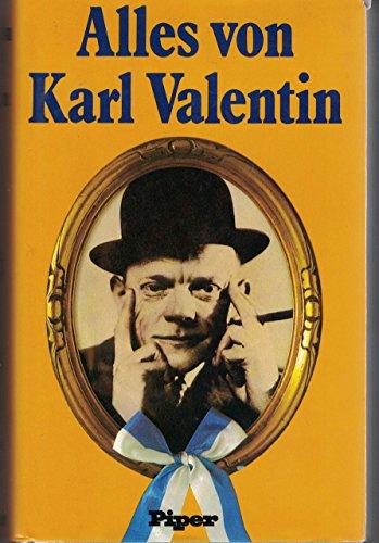 9783492024693: Alles von Karl Valentin