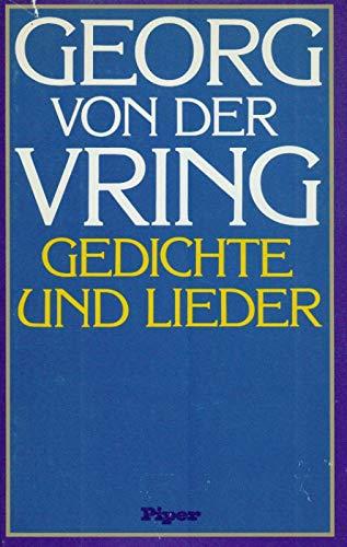 9783492024792: Gedichte und Lieder (German Edition)