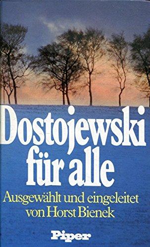9783492026307: Dostojewski für alle. Ausgewählte Werke
