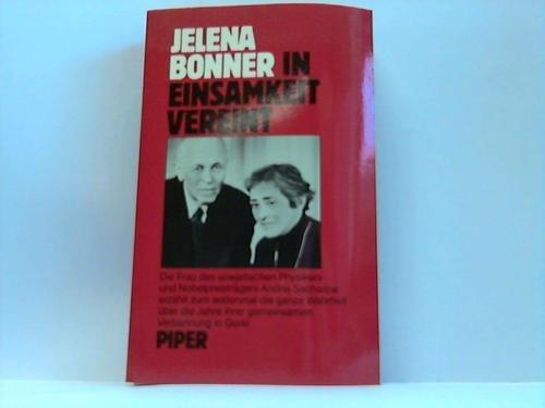 In Einsamkeit vereint - Bonner, Jelena