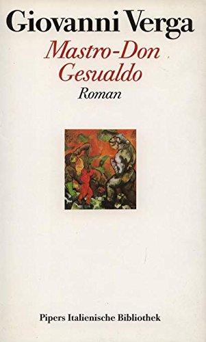 9783492033107: Mastro-Don Gesualdo