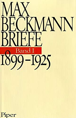 Briefe Band I. 1899-1925