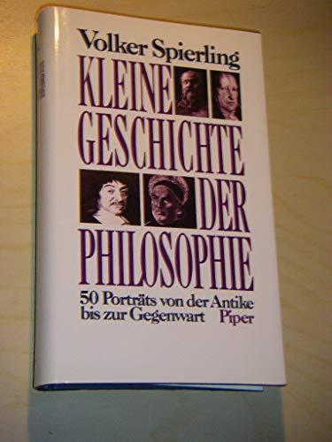 9783492034166: Kleine Geschichte Der Philosophie