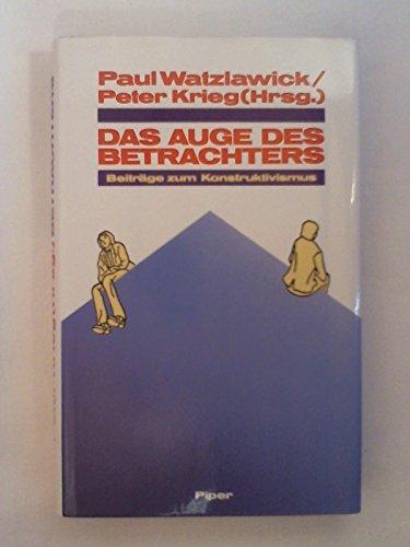 Das Auge des Betrachters: Peter Krieg, Paul