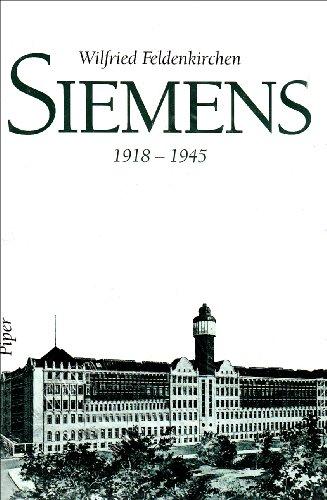 9783492037983: Siemens, 1918-1945 (German Edition)