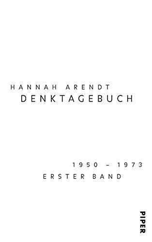 9783492044295: Denktagebuch. Bd. 1: 1950-1973. Bd. 2: 1973-1975.