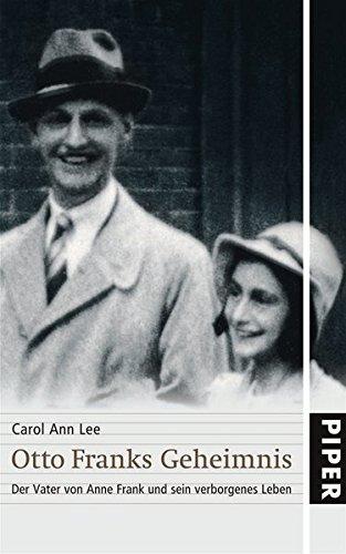 9783492044776: Otto Franks Geheimnis