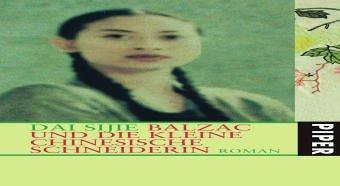 9783492048125: Balzac und die kleine chinesische Schneiderin