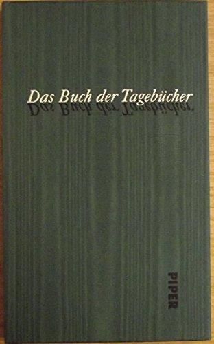 9783492054386: Das Buch der Tagebücher