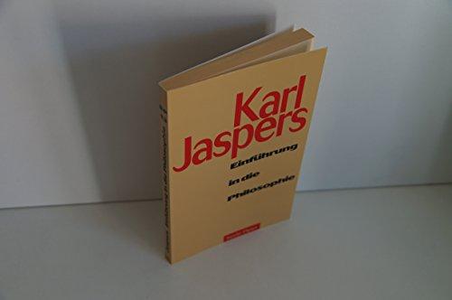 Einführung in die Philosophie.: Jaspers, Karl