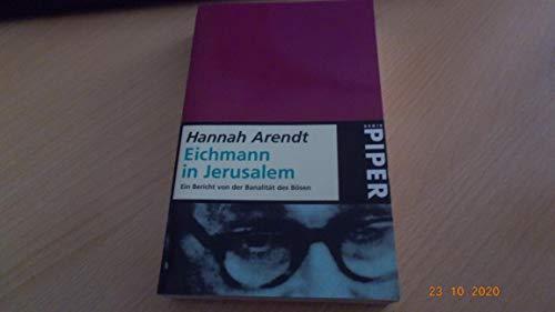 hannah arendt eichmann - 315×500