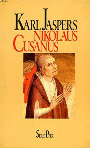 Nicolaus Cusanus: Jaspers, Karl