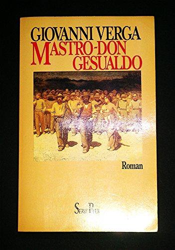 9783492106658: Mastro-Don Gesualdo