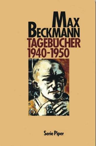 9783492107860: Tagebücher 1940-1950