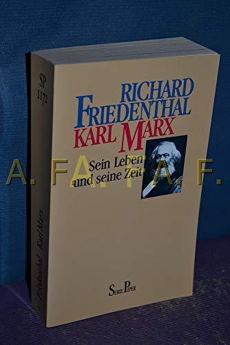 9783492111720: Karl Marx. Sein Leben und seine Zeit