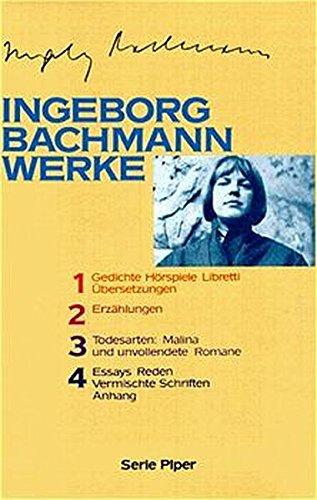 9783492117005: Werke in vier Bänden.