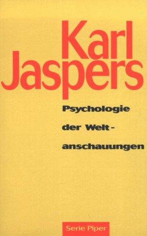 9783492119887: Psychologie der Weltanschauungen