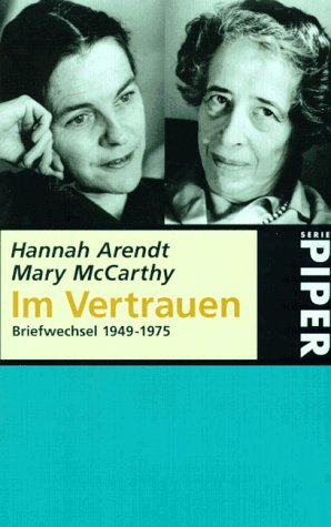 9783492224758: Im Vertrauen. Briefwechsel 1949-1975