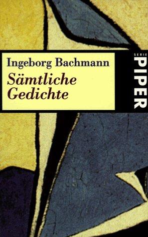 9783492226448: Samtliche Gedichte (German Edition)